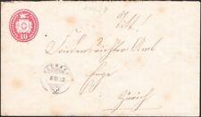 SWITZERLAND, 1883. Cover H&G 25d, Neerach - Enge
