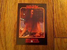 SKID ROW Vintage Trading Card 1991 Heavy Metal Hard Rock Rachel Bolan Shirtless