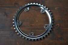 Vintage 80's 118mm BCD 40T 5 Bolt Chrome Steel Chainring