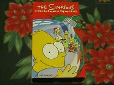 ~THE SIMPSONS~CHRISTMAS SPECIAL~HOLIDAY~FAMILY~VHS~TESTED~SANTA'S LITTLE HELPER~