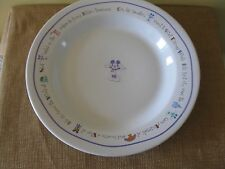 RARE Mickey Mouse Disney World Park Plate Bowl EPCOT MAGIC MGM CRUISE KINGDOM