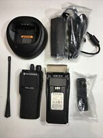 Motorola CP200 UHF 4 Ch Refurbished 438-470 MHz Radio With New Battery    B104