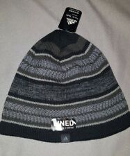 43354c70e11b6 ADIDAS OPTIMAL BEANIE ADULT HAT CLIMAWARM LINED BLACK GREY NEW MENS 5146543