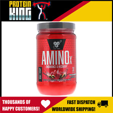 BSN AMINO X 435G 30 SERVE WATERMELON BCAA AMINOS RECOVERY INTRA WORKOUT BPI BSC