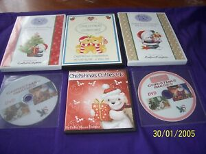 6 x Christmas card making C.D rom