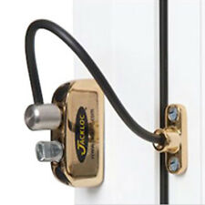 Jackloc Window Restrictor Push & Turn Brass (JACK-PT-PB)