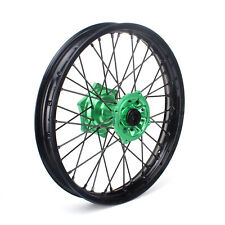"19"" x 2.15 MX Rear Wheel Kit Rim for Kawasaki KX125 KX250 KX250F KX450F klx450"