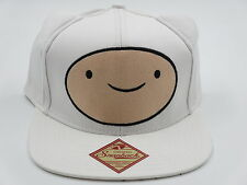 Adventure Time Cute Ears Jake and Finn White Snapback Hat CLEARANCE SALE