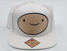 Adventure Time Cute Ears Jake and Finn White Snapback Hat CLEARANCE SALE