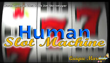 Human Slot Machine by Quique Marduk - Stage Magic,Close Up,Interactive Magic,Fun