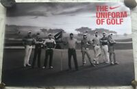 Tiger Woods - Uniform of Golf NIKE PGA Tour Poster New Rolled 24x36 Anthony Kim