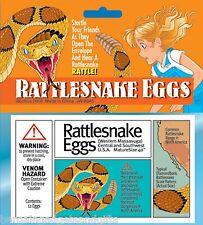 FAKE RATTLESNAKE SNAKE EGGS FUNNY JOKE TRICK BOYS CHILDRENS PRANK TOY GIFT
