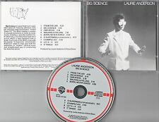 Laurie Anderson CD BIG SCIENCE  (c) 1982  TARGET