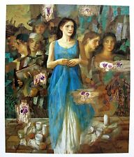 Goyo Dominguez ALBA Hand Signed Limited Edition Giclee Art