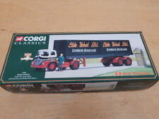 CORGI FODEN S21 ARTIC TRAILER WITH CONTAINERS & FIGURE EDDIE STOBART ~ 14303