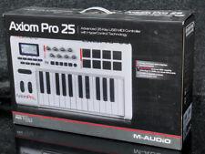 Brand New M-Audio AXIOM PRO 25 Premium Keyboard Pad Controller MIDI