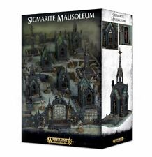 Sigmarite Mausoleum a Games Workshop scenery