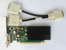 Dual HP 430956-001 430965-001 NVS 285 P383 128mb PCIe DVI Separador Windows 8