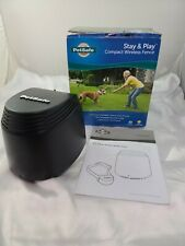 Petsafe Stay and Play Wireless Pet Fence (PIF00-12917) Missing power supply READ