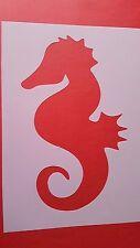 Schablonen 29 Seepferd Wandtattoos Vintage- Look Stanzschablonen Shabby Stencil
