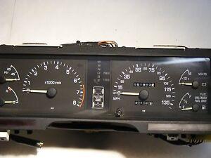 Subaru XT6 88 89 2.7 H6 Instrument gauge cluster assembly Speedometer 85033GA442