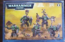 Warhammer 40000 - Games Workshop - ORK NOBZ - ORKBOSSE - NOBLZ ORKS