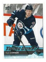 2016-17 UPPER DECK #212 KYLE CONNOR YG RC UD YOUNG GUNS ROOKIE JETS