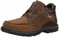 Skechers Mens Segment Melego Leather Closed Toe Ankle, Dark Brown, Size 12.0 jc2