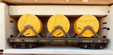 Delton G Scale Western Union Telegraph Co. Material Car with Cable Reels
