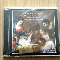Christoph Graupner - Christmas Cantatas (CD 2010) NEW & SEALED