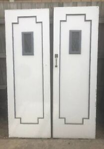 Double Doors Vintage NO KEY