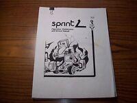 Atari Kee Games SPRINT 2 Video Arcade Game Service Instruction Repair Manual