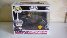 Pop Vinyl Figure Star Wars Luke Skywalker Speeder Bike CHASE EDITION #229 (:3)