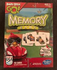 Hasbro Angry Birds Go 48 Card Memory Game. Ages 3+ New!!
