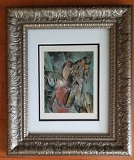 PABLO PICASSO ORIGINAL 1948  SIGNED AWESOME PRINT MATTED 11 X 14 + LIST IS  $995