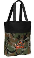 UVA Peace Frog Camo Tote Bag for Beach Pool Travel Bags