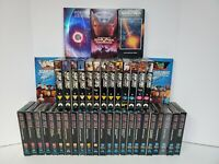 VHS star trek original TV series, the next generation and movies some are unopen