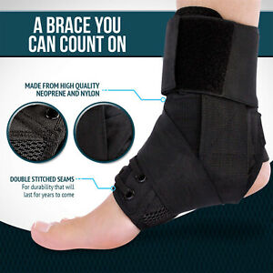 Ankle Brace Stabilizer Ankle Support Compression Sports Medial Stabilizer
