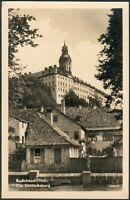 Postkarte Rudolstadt -Die Heidecksburg, ungelaufen, s/w, 1958