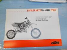2005 KTM 50 Mini Senior Adventure Engine Spare Parts Manual 3208158