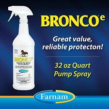 Farnam Fly Spray Repellent | For Horses, Ponies, and Dogs |32 oz