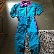 Women's Vintage Columbia Radial Sleeve Windbreaker Snow Suit Jacket Pants Sz L