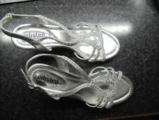 Unlisted Kenneth Cole Kind As Ever Heels - Women's Size 7 1/2 M, Silver
