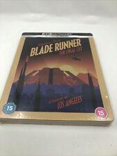 Blade Runner: The Final Cut 4K Uhd + 2D Blu-ray Steelbook Zaavi Sealed New