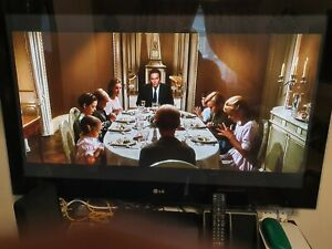 lg tv s3000 good working with 50 inches screen, condition good just.