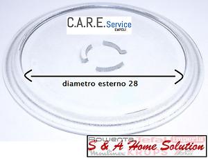 Plate Microwave whirpool Diameter 28,0cm Original 481246678407