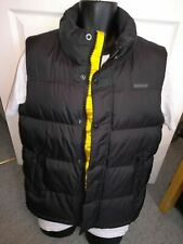 DESIGNER CATERPILLAR GILET PADDED BLACK JACKET SIZE MED..NEW COND RRP £60