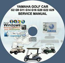 YAMAHA GOLF CAR G2 G9 G11 G14 G16 G19 G20 G22 G29YDR SERVICE REPAIR MANUAL