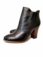 Halogen Black Brynn Leather Ankle Bootie Size 11 Retail $ 130
