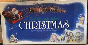 Twas The Night Before Christmas Board Game Complete Really fun family games